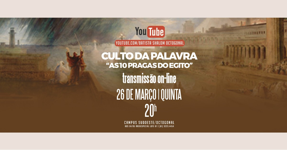 CULTO DA PALAVRA