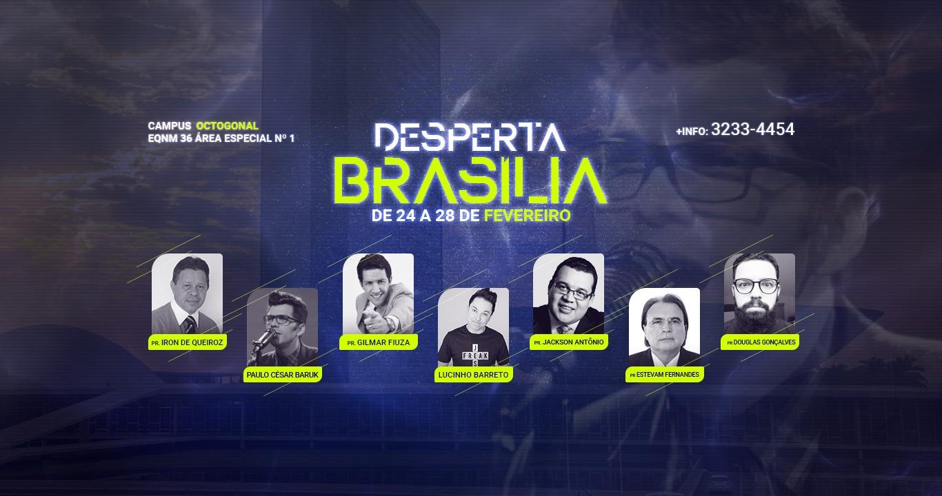 DESPERTA BRASÍLIA