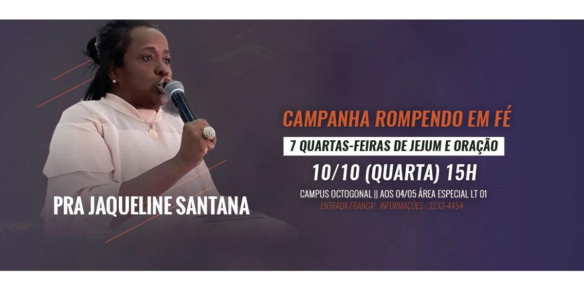 7 quarta feira - jaqueline santana