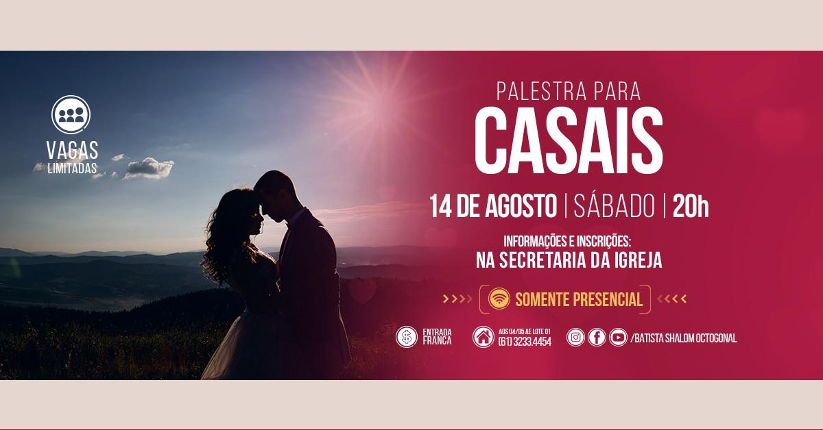 PALESTRA PARA CASAIS