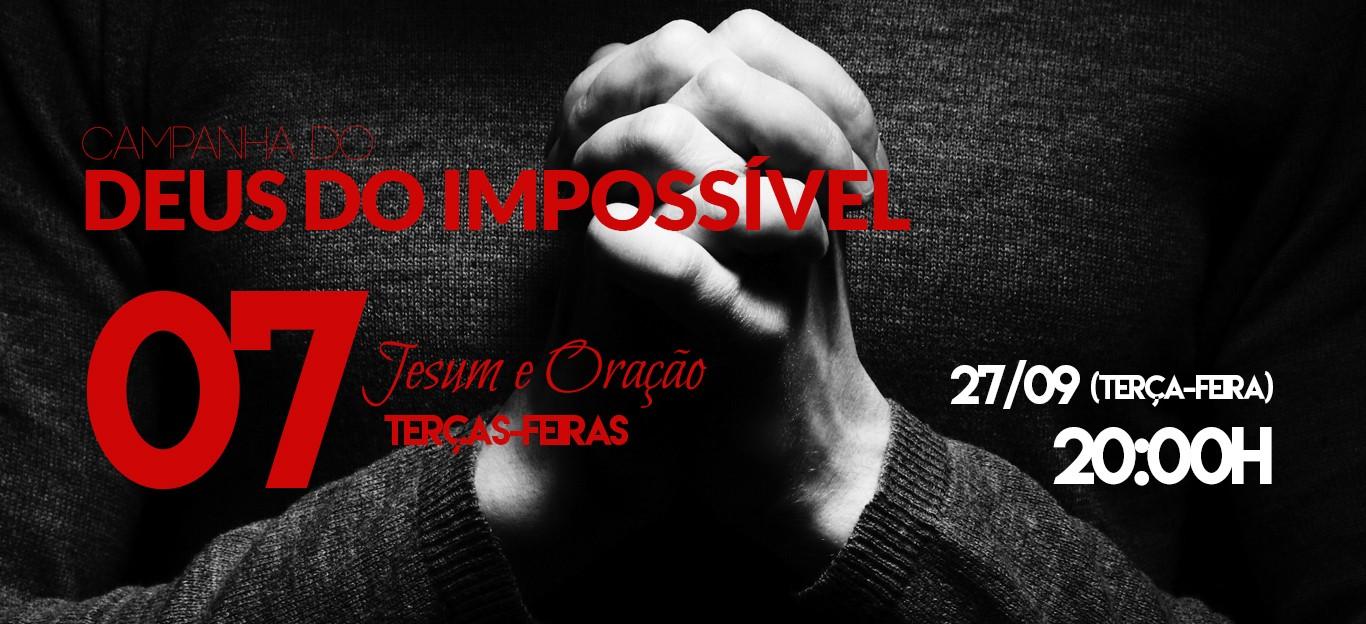 CAMPANHA DEUS DO IMPOSSÍVEL